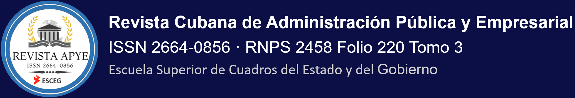 Revista Cubana de Administración Pública y Empresarial